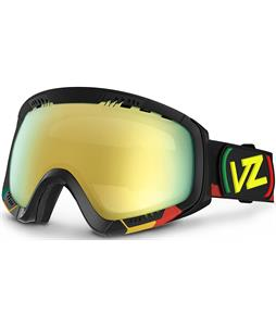 Vonzipper Feenom Goggles Vibrations/Gold Chrome Lens