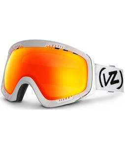 Vonzipper Feenom Goggles White Satin/Fire Chrome Lens