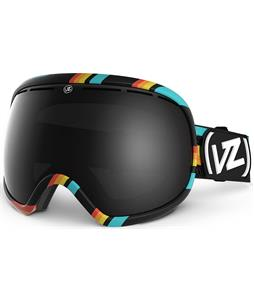 Vonzipper Fishbowl Goggles Black/Black Chrome Lens