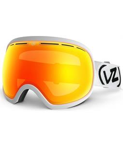 Vonzipper Fishbowl Goggles White Satin/Fire Chrome Lens