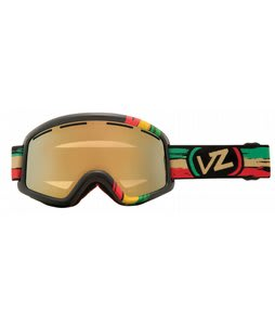 Vonzipper Beefy Goggles Vibrations/Gold Chrome Lens