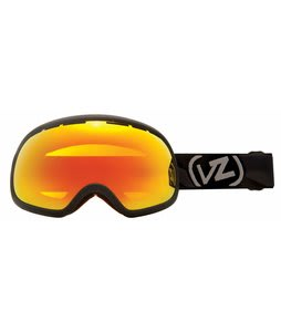 Vonzipper Fishbowl Goggles Black Satin/Fire Chrome Lens