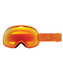 Vonzipper Fishbowl Goggles Tangerine Satin/Fire Chrome Lens
