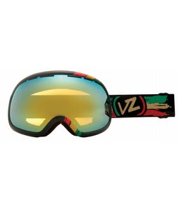 Vonzipper Fishbowl Goggles Vibrations/Gold Chrome Lens
