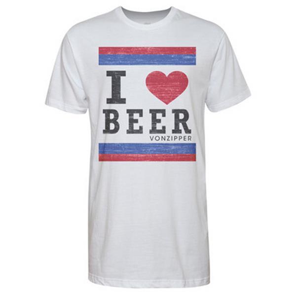 Vonzipper I Heart Beer T-Shirt