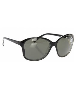 Vonzipper Runaway Sunglasses Black Clear/Grey Lens