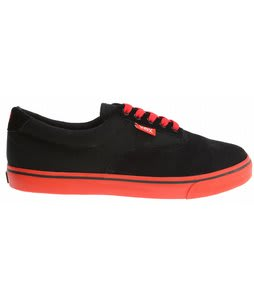 Vox Savey Skate Shoes Black/Red