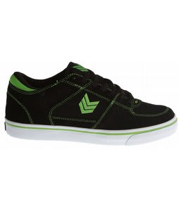Vox Trooper+Relief Skate Shoes Black/Green/White