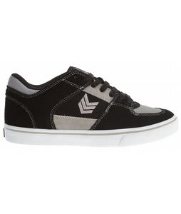 Vox Trooper+Relief Skate Shoes Black/Gray/White