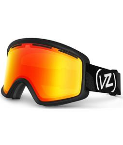 Vonzipper Beefy Goggles Black Satin/Fire Chrome Lens