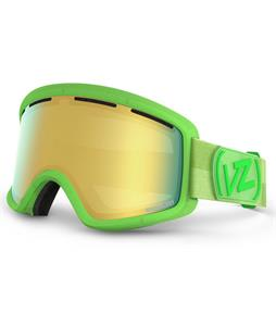 Vonzipper Beefy Goggles Brainblast Lime/Gold Chrome Lens