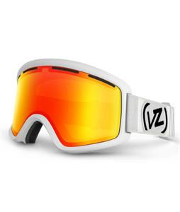 Vonzipper Beefy Goggles White Satin/Fire Chrome Lens