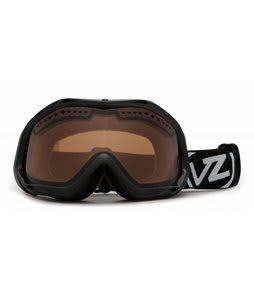 Vonzipper Bushwick Goggles Black Gloss/Bronze Lens