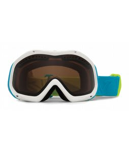 Vonzipper Bushwick Goggles White Gloss Mashup/Bronze Lens