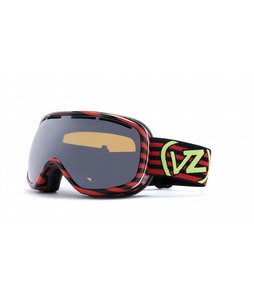 Vonzipper Chakra Goggles Stripezilla Red