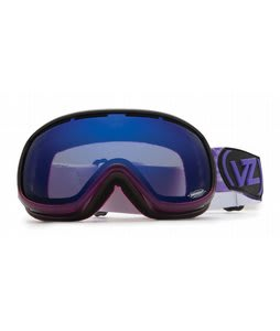 Vonzipper Chakra Goggles Purple Erkel/Astro Chrome Lens