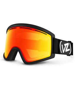 Vonzipper Cleaver Goggles Black Satin/Fire Chrome Lens