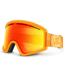 Vonzipper Cleaver Goggles Brainblast Tangerine/Fire Chrome Lens