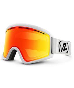 Vonzipper Cleaver Goggles White Satin/Fire Chrome Lens