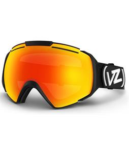 Vonzipper El Kabong Goggles Black Satin/Fire Chrome Lens