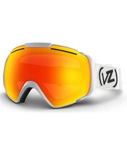 Vonzipper El Kabong Goggles White Satin/Fire Chrome Lens
