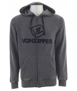 Vonzipper Exhaust Hoodie Black Heather