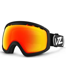 Vonzipper Feenom N.L.S. Goggles Black Satin/Fire Chrome Lens
