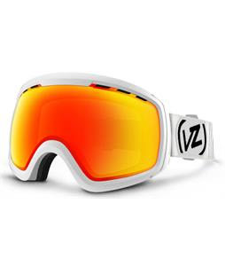 Vonzipper Feenom N.L.S. Goggles White Satin/Fire Chrome Lens