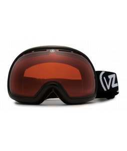 Vonzipper Fishbowl Goggles Black Gloss/Amber Lens