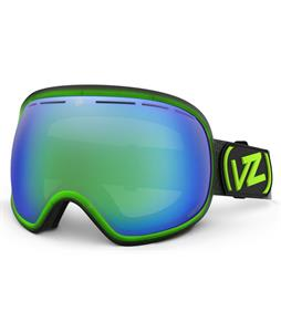 Vonzipper Fishbowl Goggles Mindglo Lime/Quasar Chrome + Yellow Lens