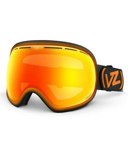 Vonzipper Fishbowl Goggles Mindglo Orange/Fire Chrome + Yellow Lens