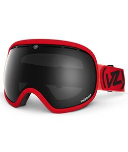 Vonzipper Fishbowl Goggles Red/Black Chrome Lens