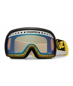 Vonzipper Fubar Goggles Banana Bake/Yellow Chrome Lens