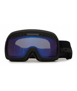 Vonzipper Fubar Goggles Black Satin/Astro Chrome Lens