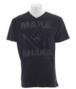 Vonzipper Make Shaka V-Neck T-Shirt Black