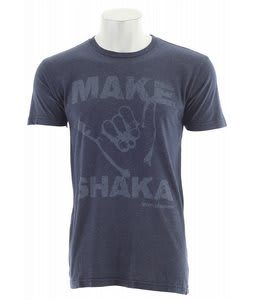 Vonzipper Make Shaka T-Shirt Navy Heather