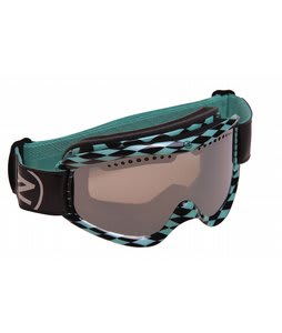 Vonzipper Sizzle Goggles Diamonds R Forever Aqua/Smoke Grey Chrome Lens