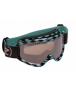 Von Zipper Sizzle Goggles Diamond R Forever AquaSmoke Grey Lens