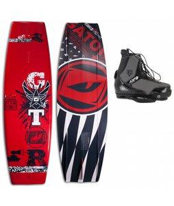 Gator Boards Militant Wakeboard w/ Gator Boards Fate Limited Edition CT Bindings