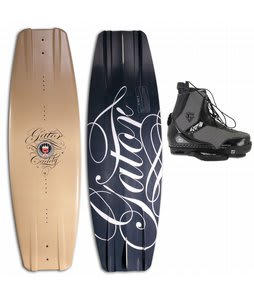 Gator Boards Caddy Wakeboard w/ Gator Boards Fate Limited Edition CT Bindings