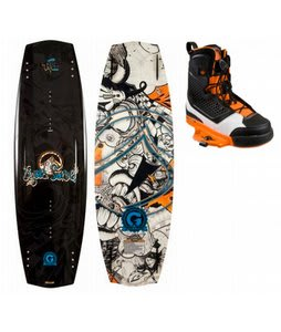 Liquid Force Super Trip Wakeboard w/ Liquid Force Ultra CT Bindings