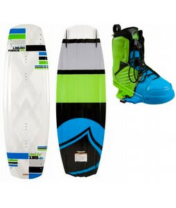 Liquid Force Harley Wakeboard w/ Liquid Force Harley Bindings