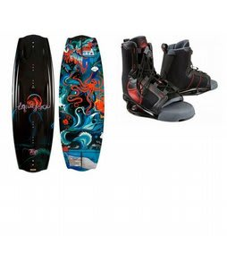 Liquid Force Ps3 Grind Wakeboard w/ Liquid Force Index Bindings