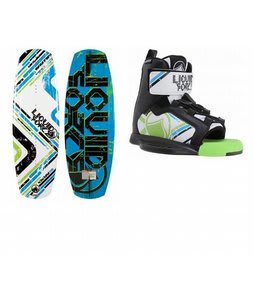 Liquid Force Nemesis Wakeboard w/ Liquid Force Nemesis Bindings