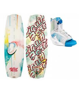 Liquid Force Angel Wakeboard w/ Liquid Force Plush Wakeboard Bindings