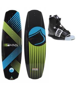 Liquid Force Omega Wakeboard w/ Element Bindings