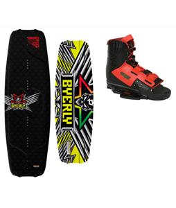 Byerly Monarch Wakeboard w/ Byerly Verdict Wakeboard Bindings