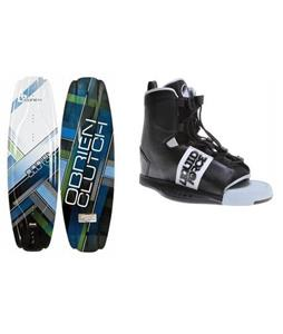 O'Brien Clutch Wakeboard 142 w/ Liquid Force Element Wakeboard Bindings