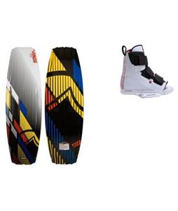 Liquid Force S4 Wakeboard w/ Vantage OT Bindings