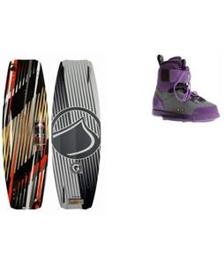 Liquid Force Shane LTD Hybird Wakeboard w/ Shane LTD Bindings
